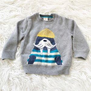 Gymboree Animal Knit Sweater 12-18 Months